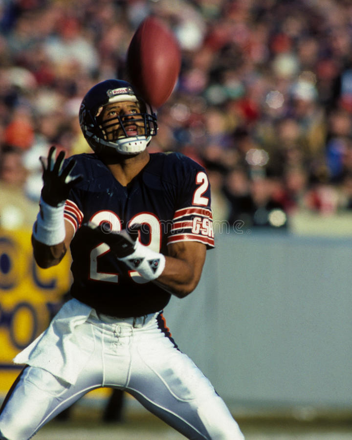 Dennis Gentry Chicago Bears royalty-vrije stock afbeeldingen