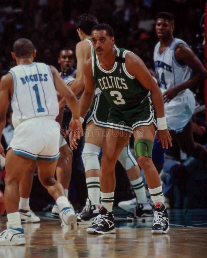 Dennis Johnson, Boston Celtics immagine stock