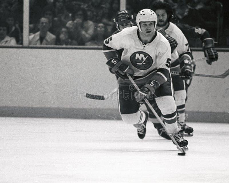 Dennis Potvin, New York Islanders images stock