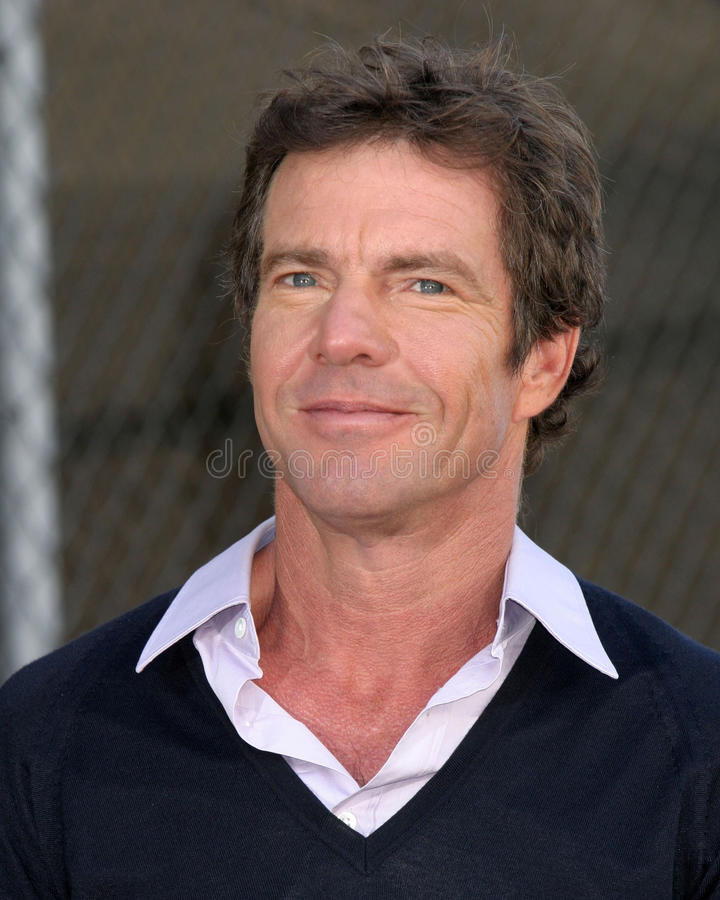 Download Dennis Quaid redaktionelles bild. Bild von ruhm, angeles - 26358415