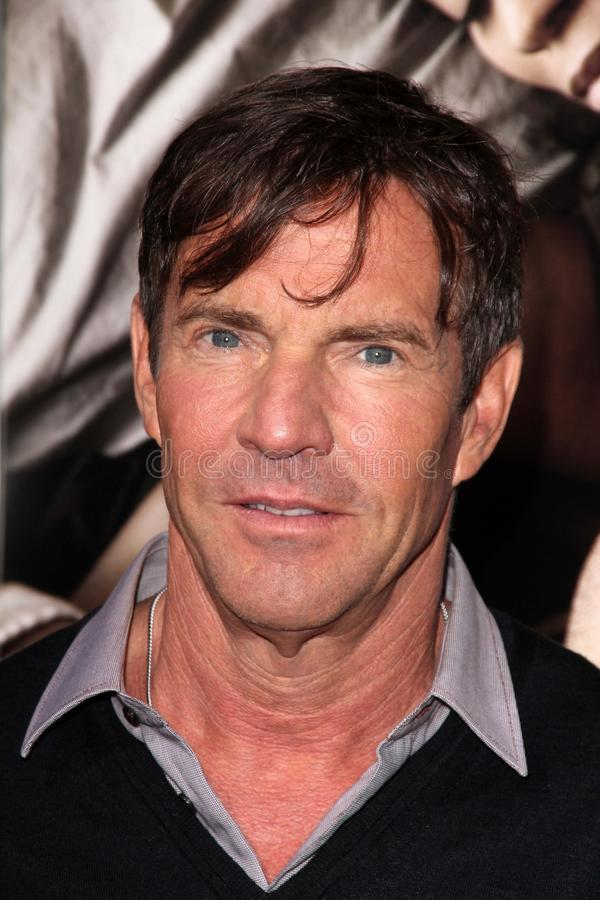 Download Dennis Quaid editorial photography. Image of 09, hollywood - 26540207