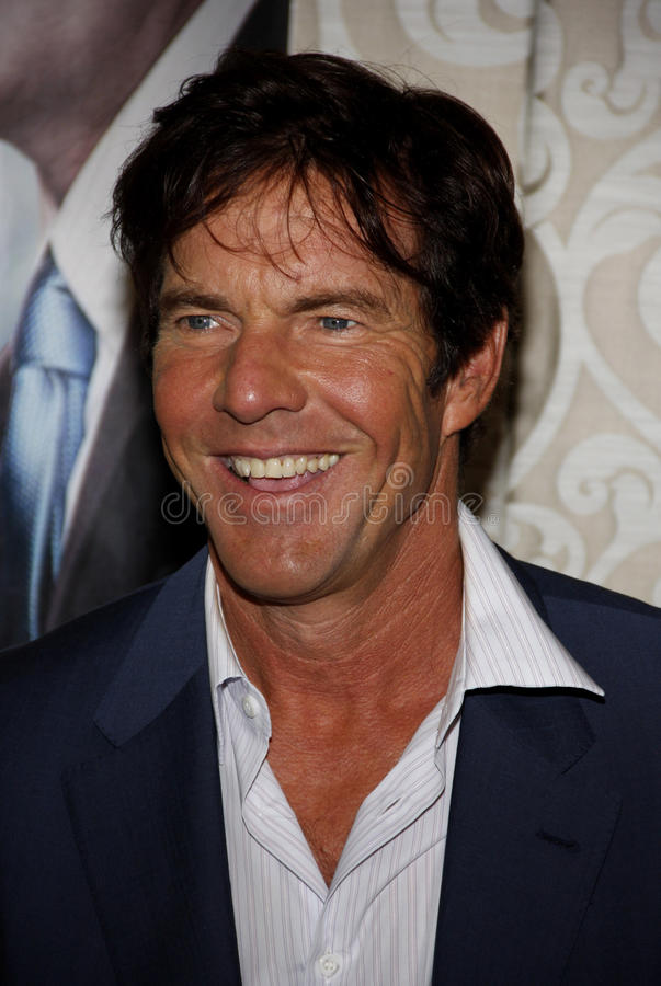 Dennis Quaid. 19/05/2010 - Hollywood - Dennis Quaid at the Los Angeles Premiere of The Special Relationship held at the Director's Guild of America in Hollywood stock photography