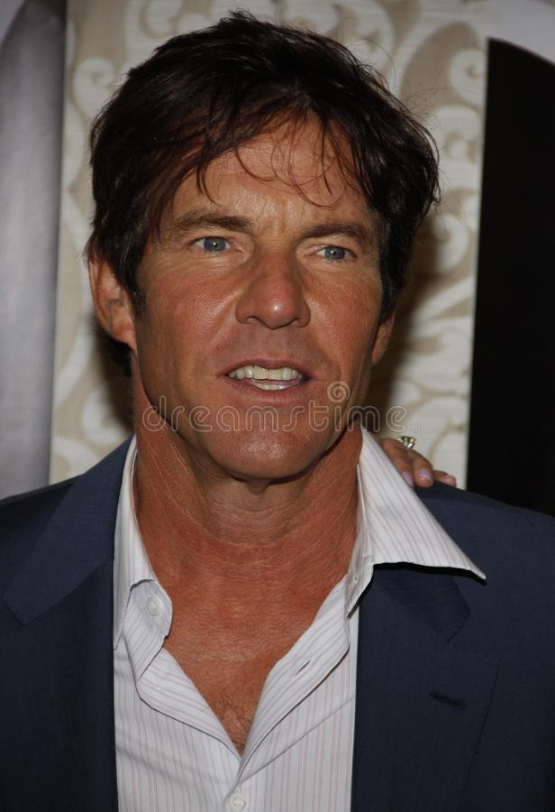 Dennis Quaid. At the Los Angeles Premiere of `The Special Relationship` held at the Director`s Guild of America in Hollywood, California, United States on May royalty free stock photography