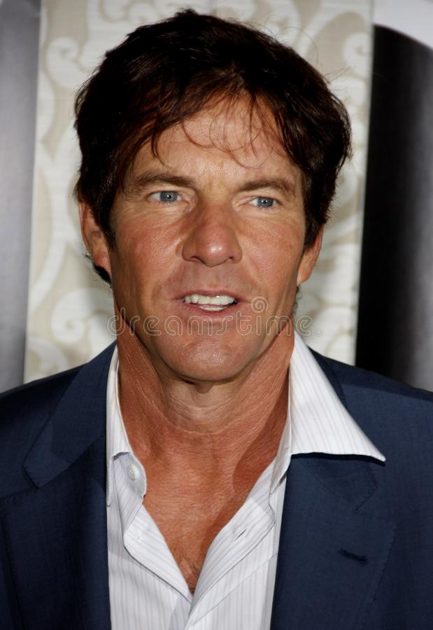 Dennis Quaid. At the Los Angeles Premiere of `The Special Relationship` held at the Director`s Guild of America in Hollywood, California, United States on May stock photography