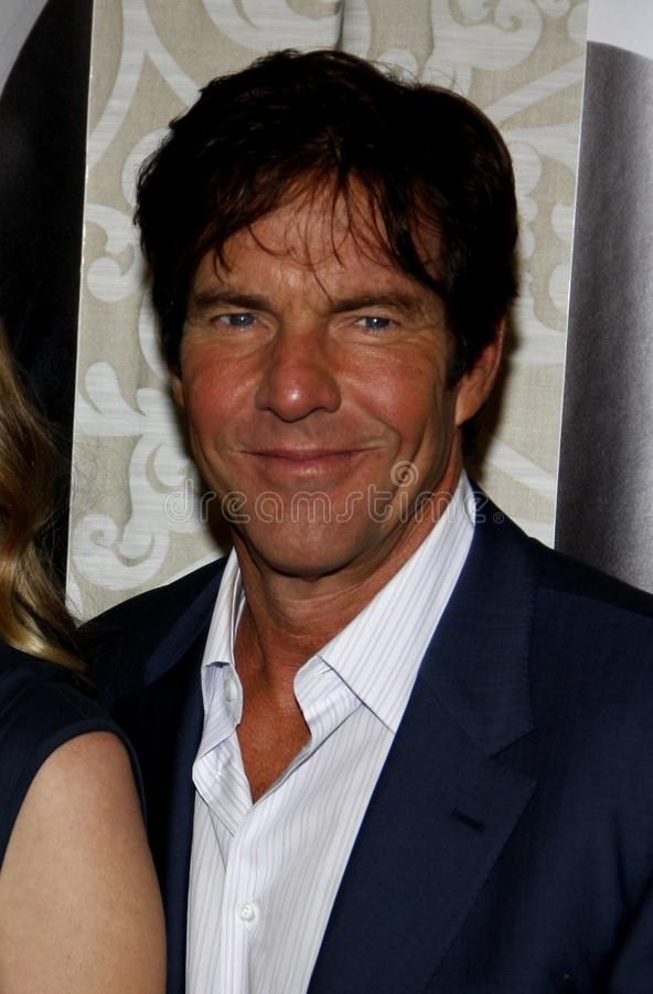 Dennis Quaid. At the Los Angeles Premiere of `The Special Relationship` held at the Director`s Guild of America in Hollywood, California, United States on May stock photo