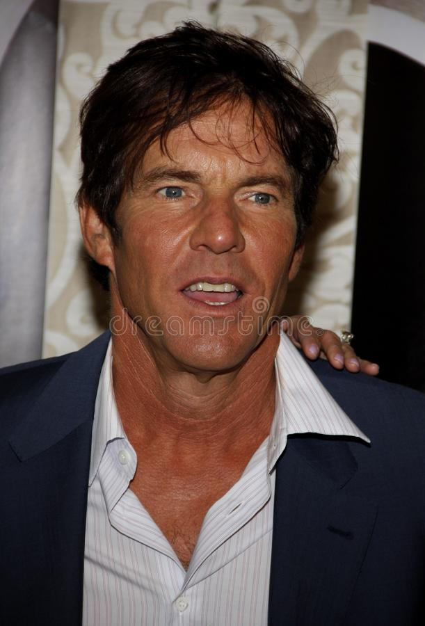 Dennis Quaid. At the Los Angeles Premiere of `The Special Relationship` held at the Director`s Guild of America in Hollywood, California, United States on May royalty free stock photo