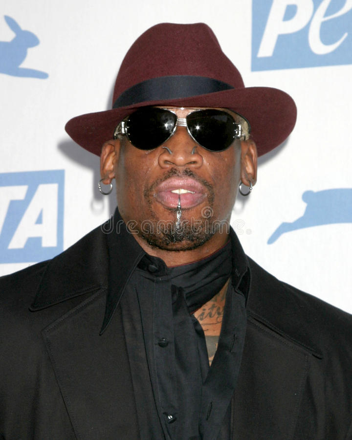 Download Dennis Rodman editorial photography. Image of dennis - 26358787
