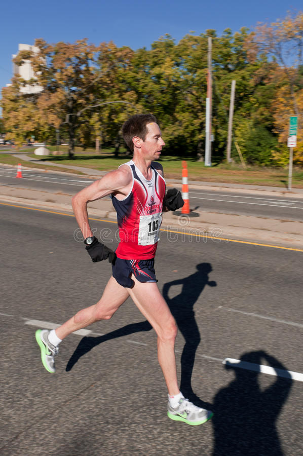 Dennis Simonaitis - 2010 Twin Cities Marathon