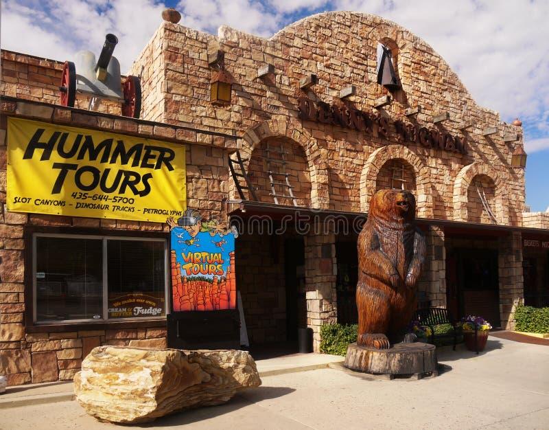 Denny's圆锥形小屋, Kanab,犹他,美国 免版税库存图片