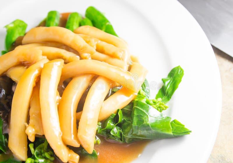 Denny asparagus z warzywem zdjęcia royalty free