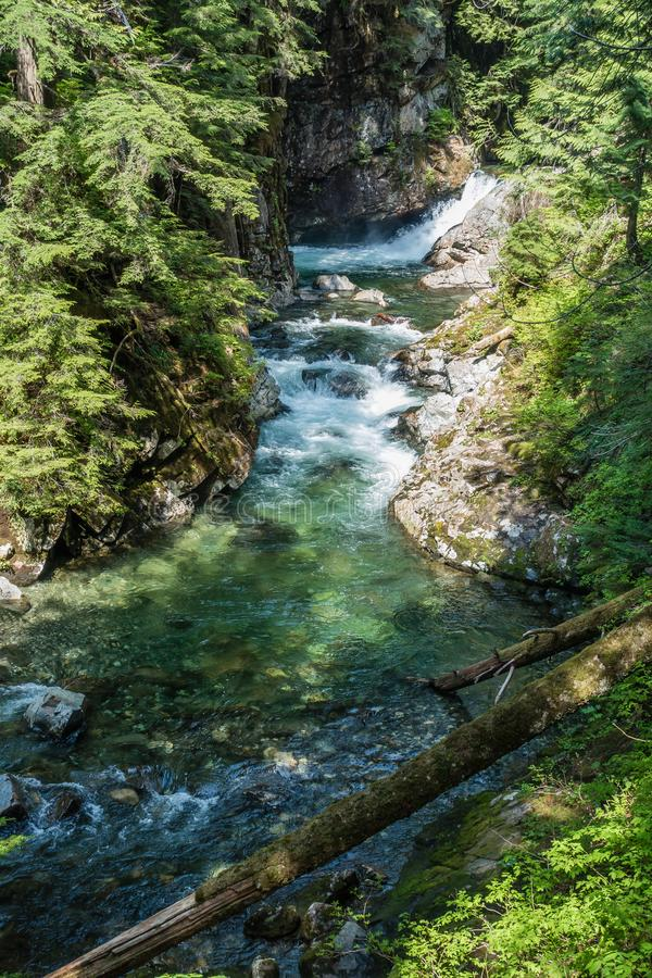 Denny Creek Landscape 4 imagem de stock royalty free