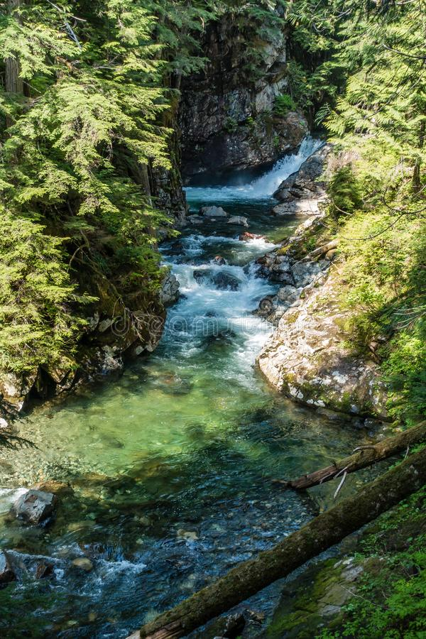 Denny Creek Landscape 7 imagem de stock royalty free