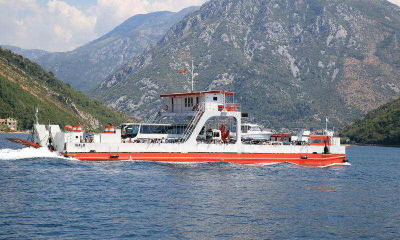 Denny ferryboat zdjęcia stock