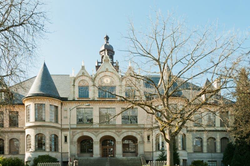 Denny Hall University of Washington stock photo