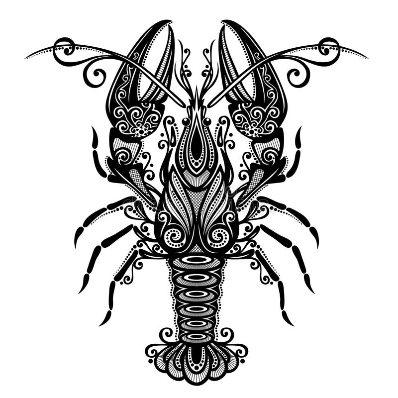 Denny homar ilustracji
