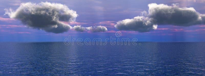denny niebo fotografia stock