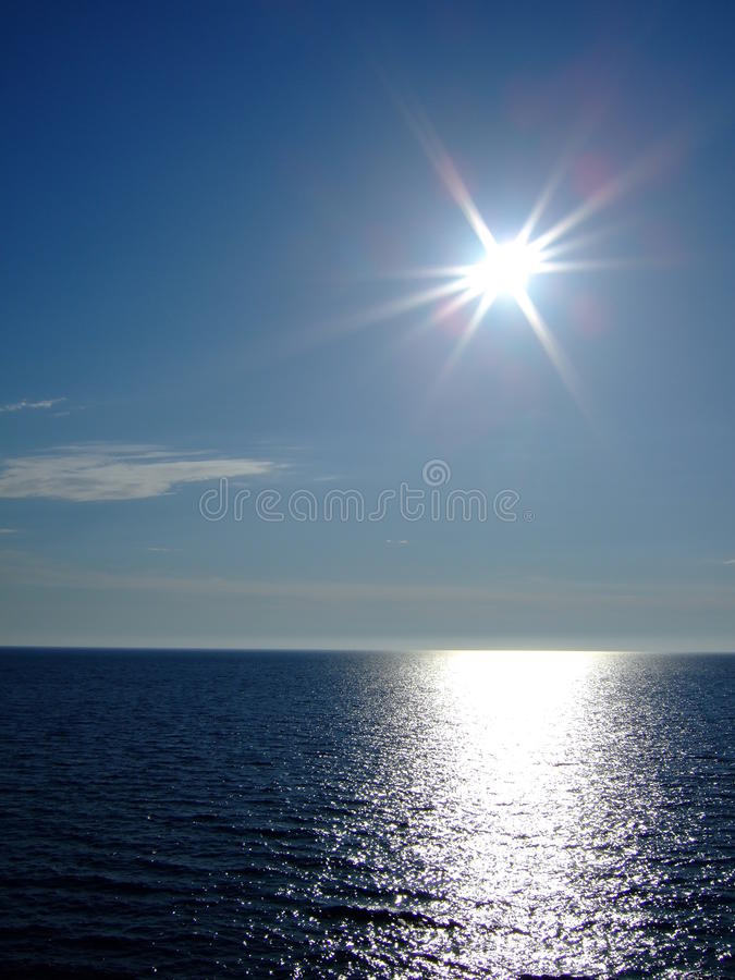 denny słońce zdjęcie stock