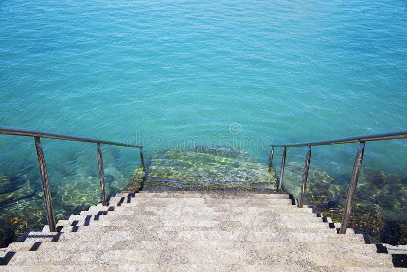 denny schody zdjęcie royalty free