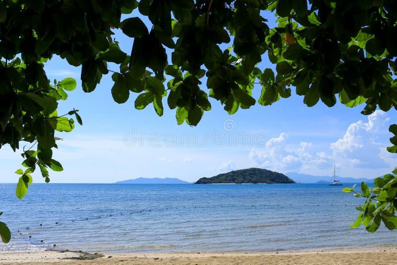 Denny widok na plaży zdjęcia royalty free