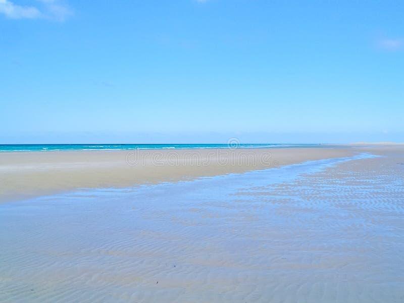Denny wybrzeże Jemen, pusta morze plaża zdjęcie royalty free