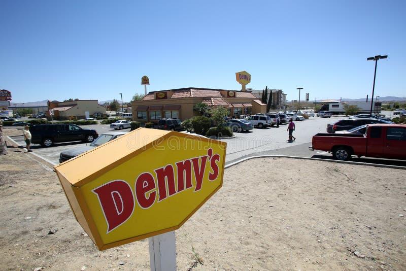 Dennys Restaurant stockbilder
