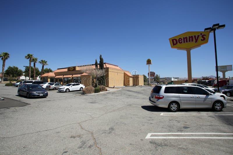Dennys Restaurant stockfotografie