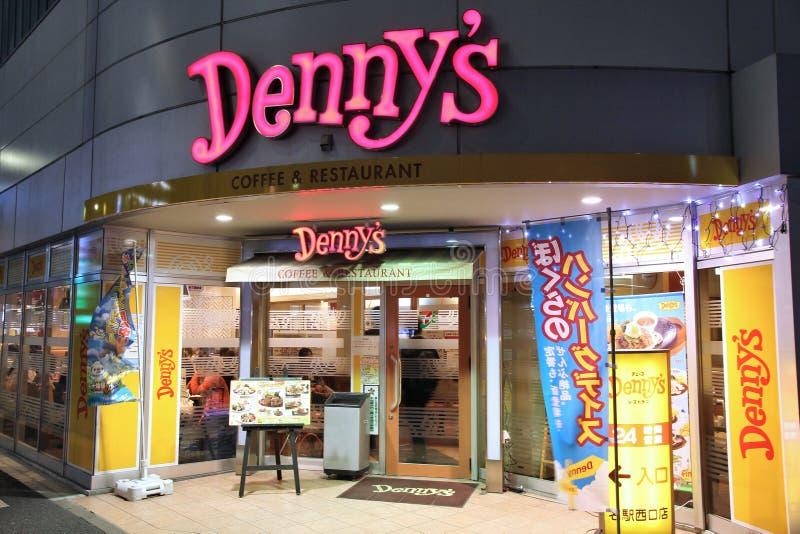 Dennys Restaurant lizenzfreie stockbilder