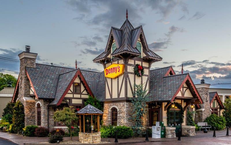Dennys Restaurant royalty free stock photos