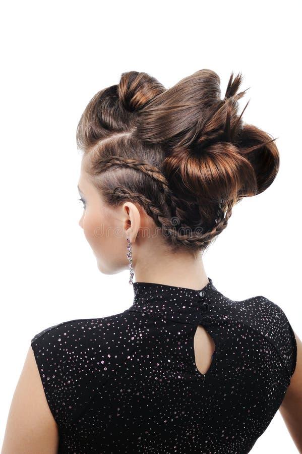 Denominando o penteado fotografia de stock royalty free
