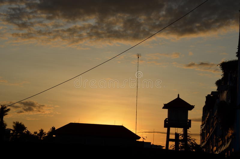 DENPASAR INDONESIA fotografie stock libere da diritti