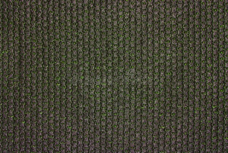 Dense black braided fabric texture. royalty free stock image