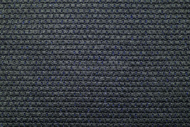 Dense black braided fabric texture. royalty free stock photo