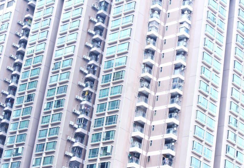 Dense Flat Building In China Stock Photos