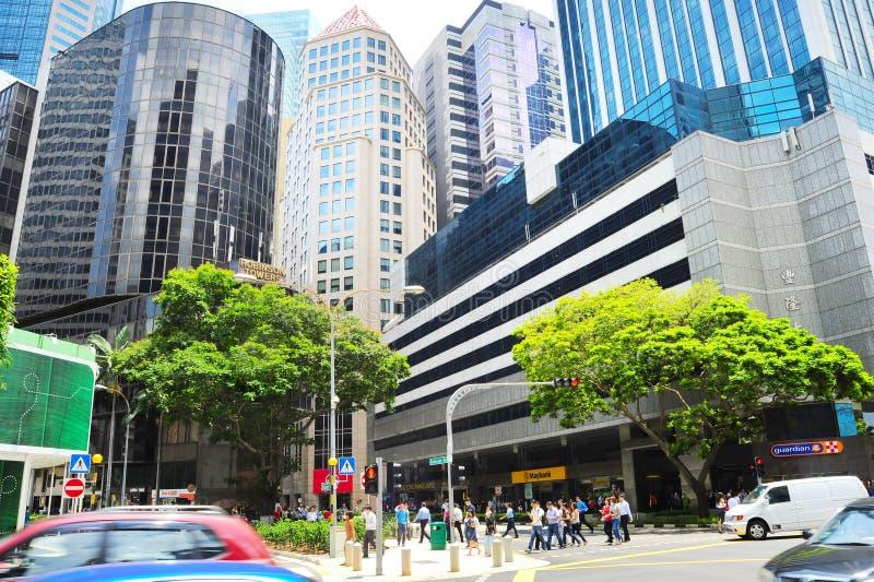 Densità Singapore fotografia stock libera da diritti