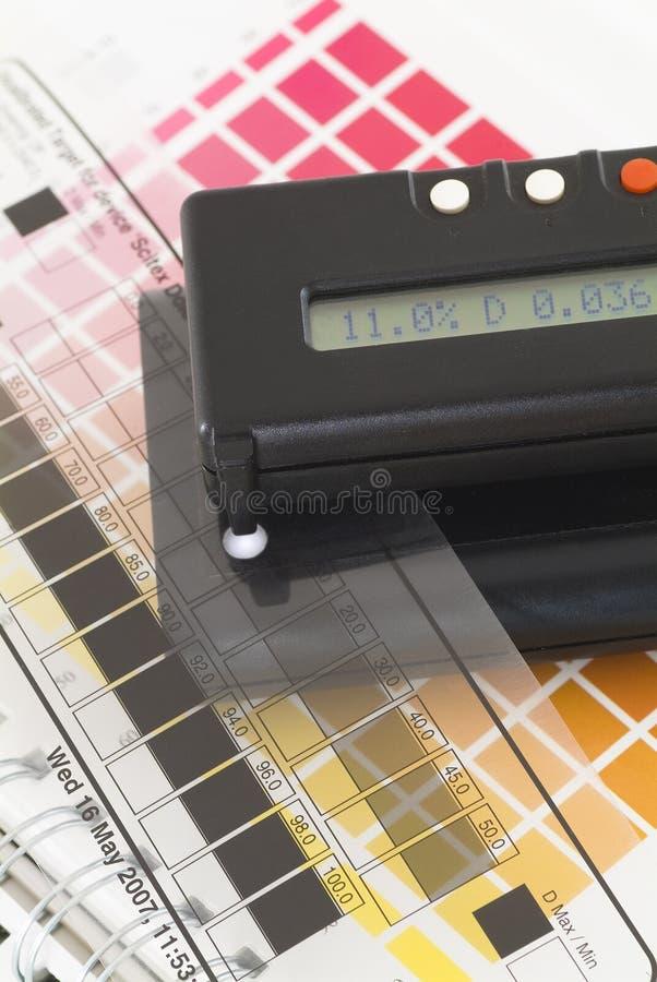 Densitómetro foto de archivo libre de regalías