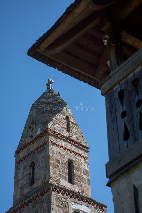 Densus Christian Church ( Saint Nicholas' Church ), Hunedoara, Romania. Densus Christian Church (Saint Nicholas' Church), Hunedoara, Romania royalty free stock images