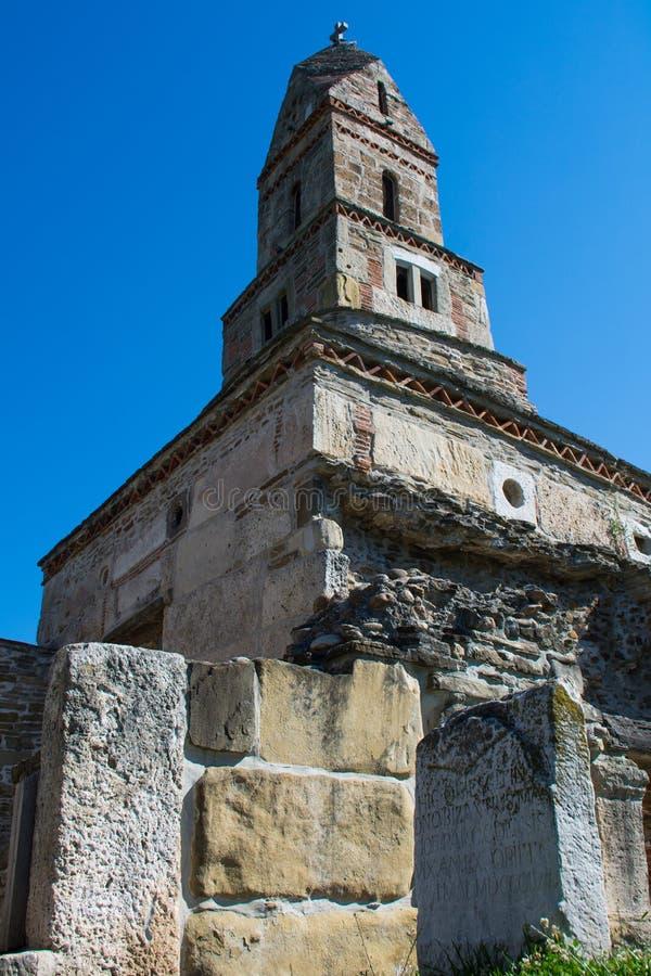 Densus Christian Church ( Saint Nicholas' Church ) , Hunedoara , Romania. Densus Christian Church (Saint Nicholas' Church), Hunedoara, Romania royalty free stock photography