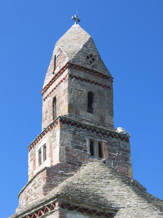 Densus Church - Romania stock photos