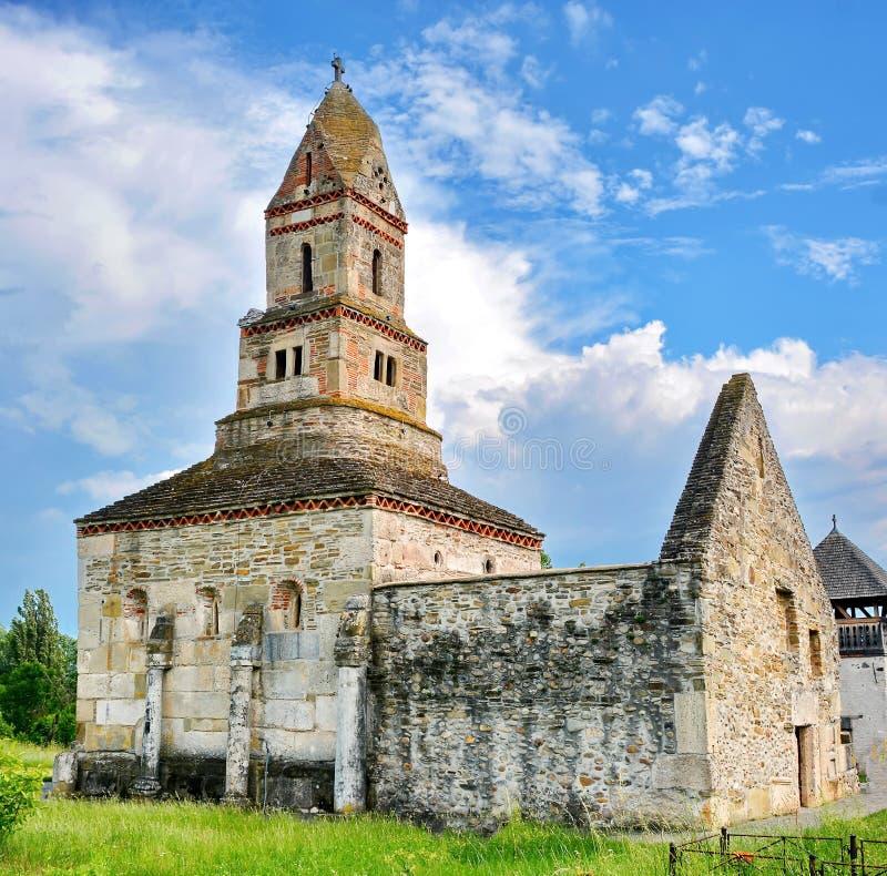 Densus Church Romania stock photos