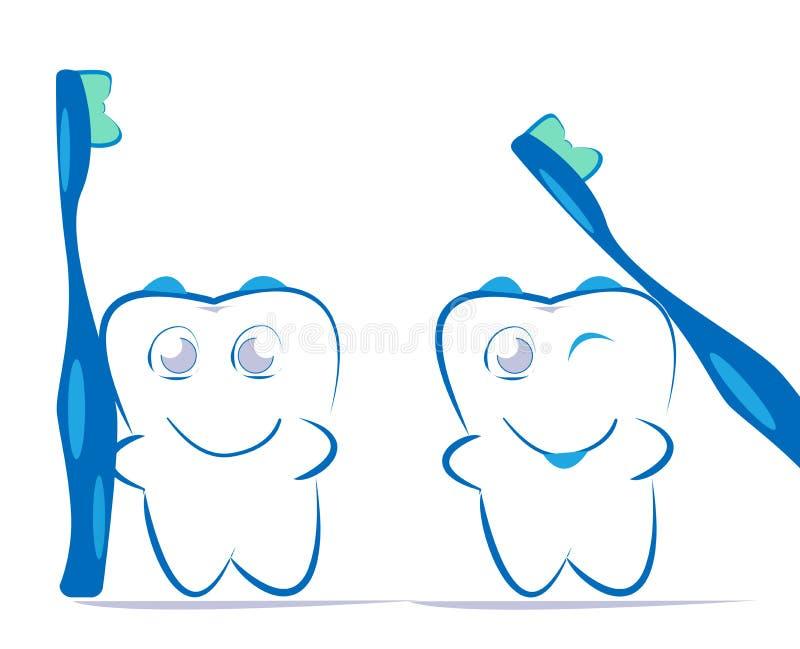 Dent illustration libre de droits