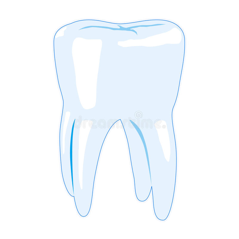 Dent illustration de vecteur