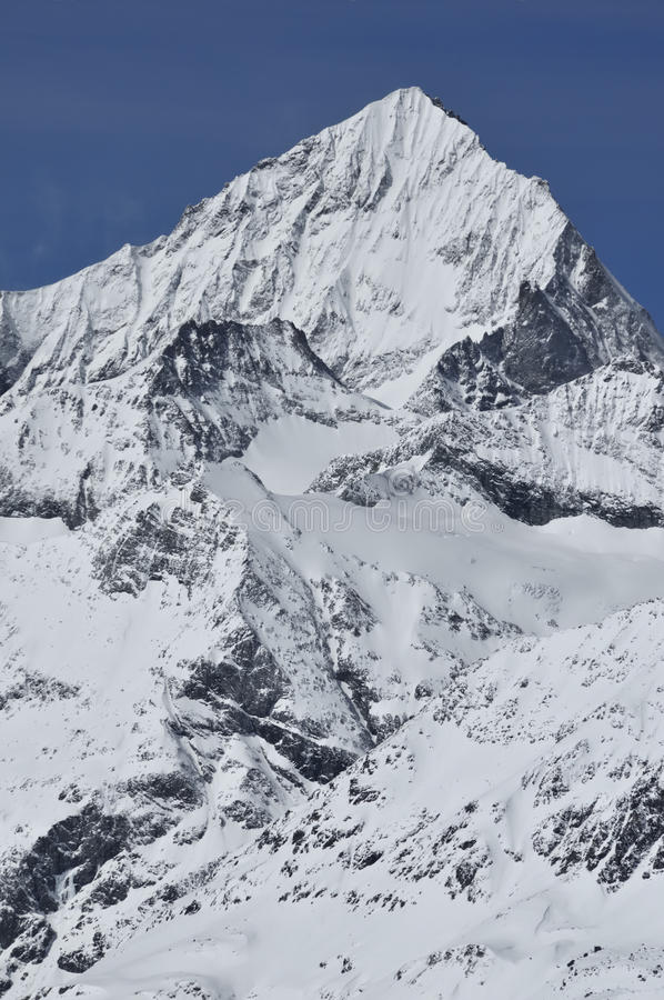 Dent Blanche stock photo