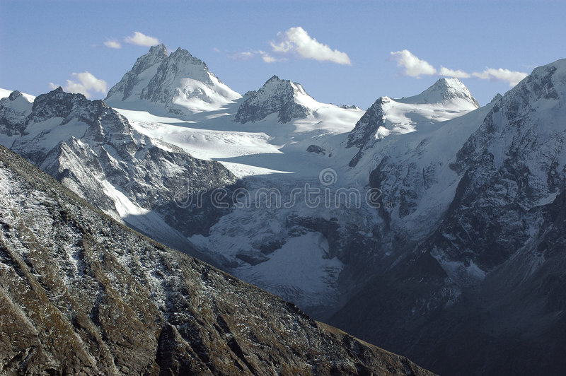 Download Dent D'Herens From The Col Breona Royalty Free Stock Photos - Image: 5797268