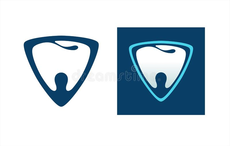 Dent 3 dentaires illustration stock