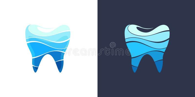 Dent 4 dentaires illustration de vecteur