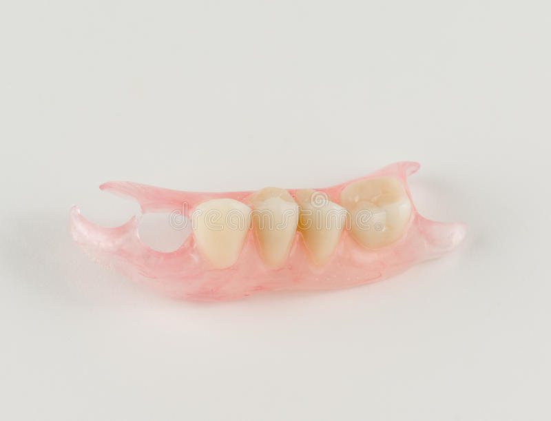Dentaduras desprendibles de nylon modernas fotografía de archivo libre de regalías