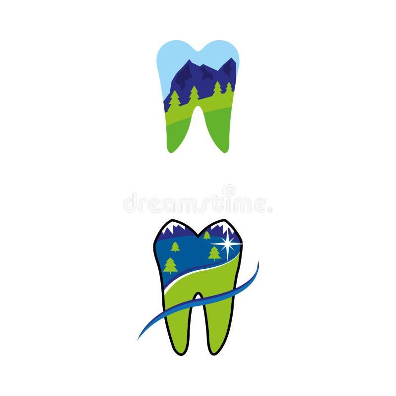 10 dentaires illustration stock