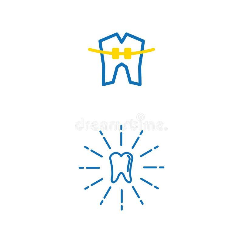 12 dentaires illustration libre de droits