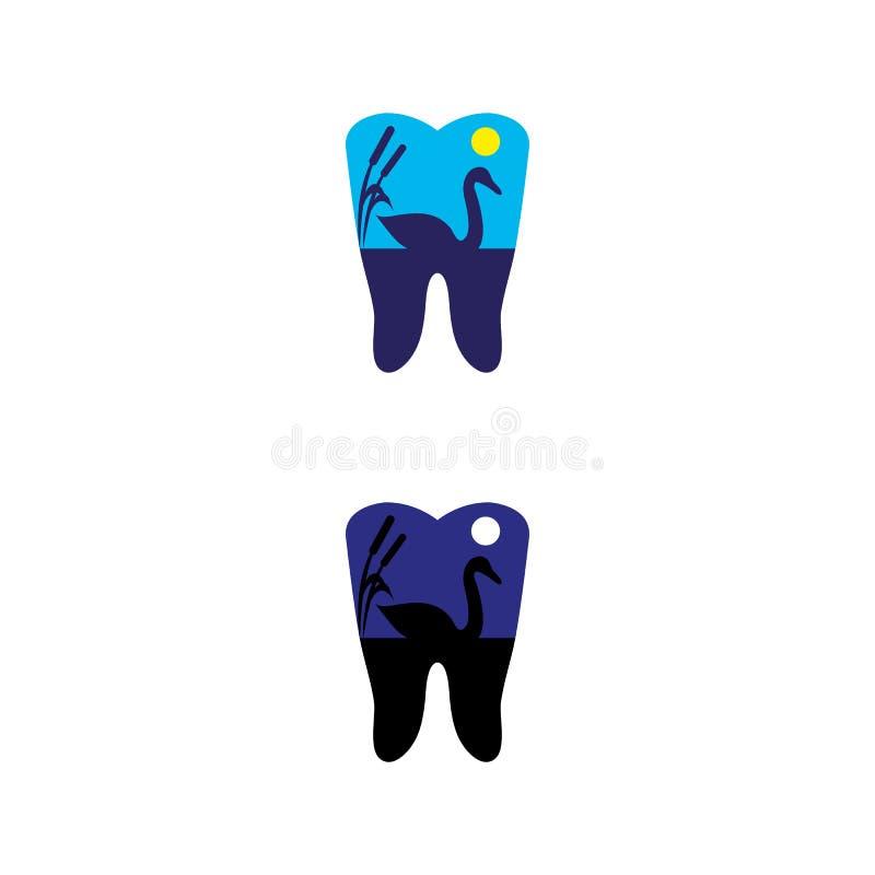13 dentaires illustration de vecteur