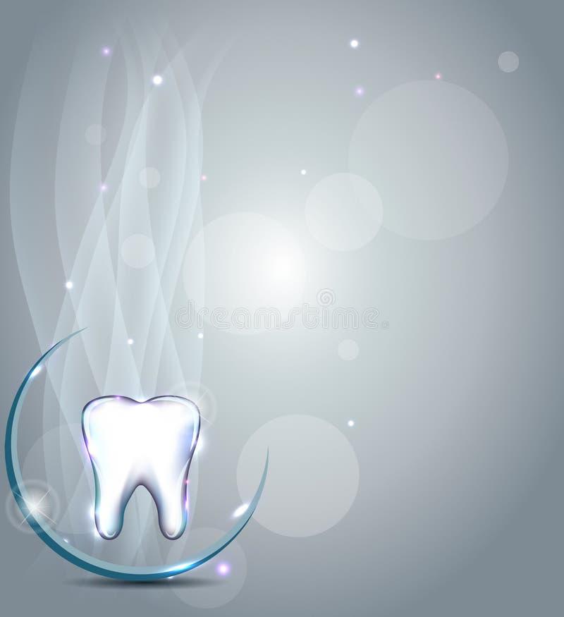 Dental background vector illustration